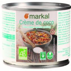 Crème de coco bio 200 ml Markal