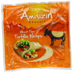 Tortilla de blé bio X6 Amaizin 240g