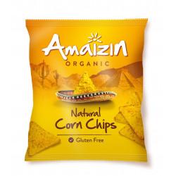 Corn chips natural bio 150 g Amaizin