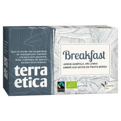 Thé breakfast bio 36 g Terra Etica