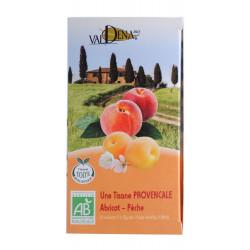 Tisane provençale abricot pèche