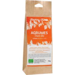 Tisane mélange agrumes bio 35 g L'Herbier de France