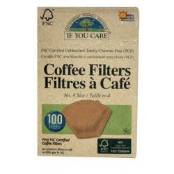 Filtres à café n°4 (x 60) Ecodoo