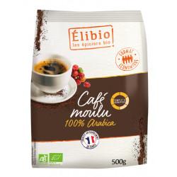 Café arabica moulu bio 500 g Elibio