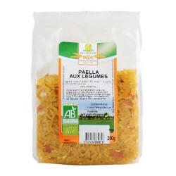 Paella aux légumes bio 250 g Moulin des moines