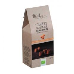 Truffes caramel au beurre salé bio, ballotin 200g