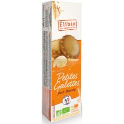 Petites galettes pur beurre bio 125 g Elibio
