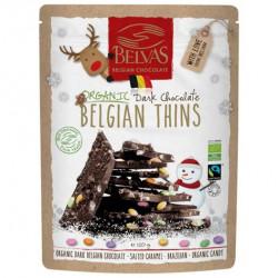 Chocolat Belgian thins bio 120 g