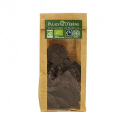 Sujets de Noël chocolat noir bio 100 g Palais d'ébène