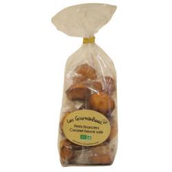 Petits financiers bio caramel beurre salée 160 g