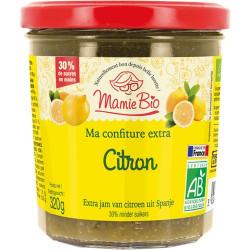 Confiture extra de citron bio 320 g Mamie Bio