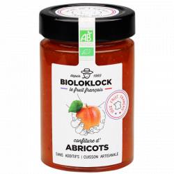 Confiture d'abricots bio 230 g Bioloklock
