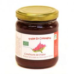 Confiture de fraises bio 230 g Fraise et Compagnie