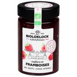 Confiture de framboises bio 230 g Bioloklock