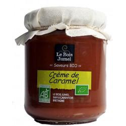Crème de caramel au beurre salé bio 240 g