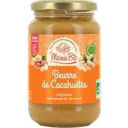 Beurre de cacahuètes bio 350 g Mamie Bio
