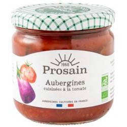 Aubergines cuisinées à la tomate bio 345 g