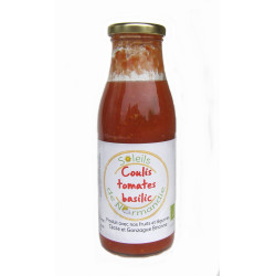 Coulis tomates basilic Soleils de Normandie 1000 ml