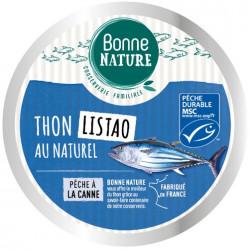 Thon Listao au naturel 160 g bonne nature