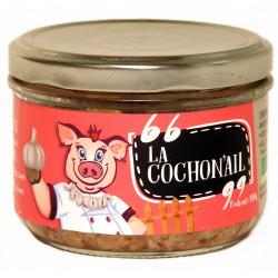 Terrine à l'ail bio La cochon'ail 180 g Ferme des Crettes