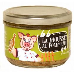 Mousse de foie au pommeau bio 180 g Ferme des Crettes