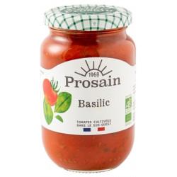 Sauce tomate basilic bio 370 g Prosain