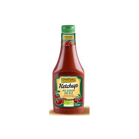 Ketchup bio sans saccharose 500 ml