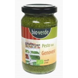 Pesto bio frais au basilic 165 g Bioverde