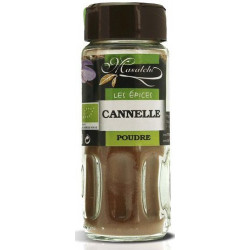 Cannelle bio moulue 28 g Masalchi