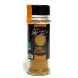 Curry colombo bio 35 g Masalchi