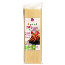 Spaghettis blancs bio 3 mm 500 g Markal