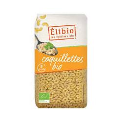 Coquillettes blanches bio 500 g Elibio