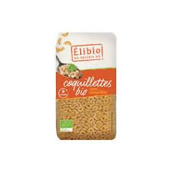 Coquillettes semi complètes bio 500 g Elibio