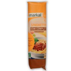 Spaghetti demi-complets bio 500 g Markal