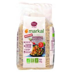 Macaronis demi-complèts bio 3 mm 500 g Markal