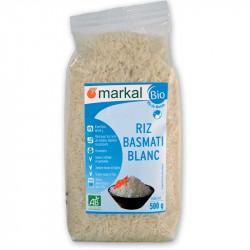 Riz Basmati bio blanc 500g Markal