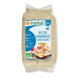 Riz long blanc de camargue bio 1 kg Markal