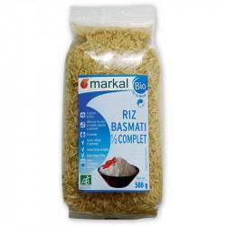 Riz basmati 1/2 complet bio 500 g Markal