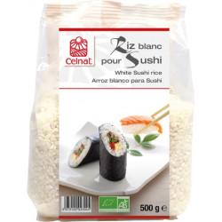 Riz blanc bio pour sushis 500 g Celnat