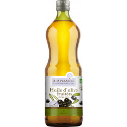 Huile d'olive fruitée, vierge extra 1L Bio Planète
