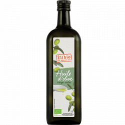 Huile d'olive vierge bio 1 l Elibio