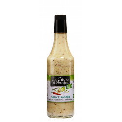 Vinaigrette bio allégée à la moutarde à l'ancienne 500ml