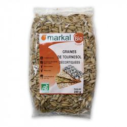 Graines de tournesol décortiquées bio 250g Markal