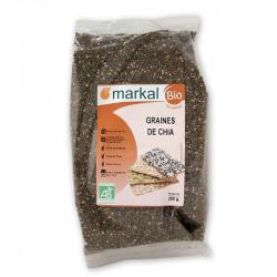 Graines de chia bio 250g Markal