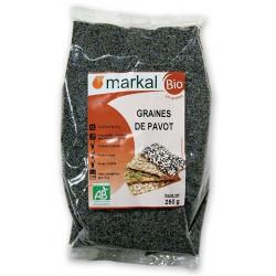 Graines de Pavot bio 250g Markal