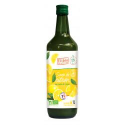 Sirop citron bio 1 l Elibio