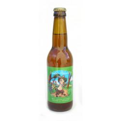 Bière rousse de printemps bio 33 cl Conte et Fleurette