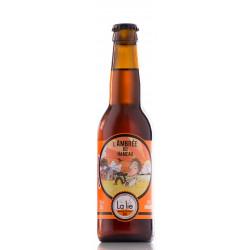 Bière bio L'Ambrée de hameau 33 cl