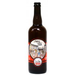 Bière bio 75 cl La triple à la mode de Caen