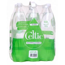 Pack eau pétillante légère Celtic 6x1.5L